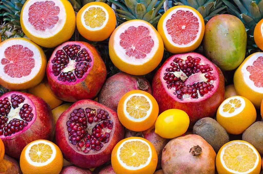 cítricos pomelo